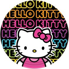 Hello Kitty Tween Dinner Plates - Includes (8) paper dinner plates. This item is an officially licensed Hello Kitty product.