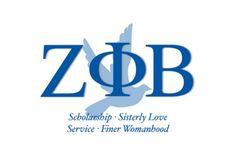 Zeta Phi Beta   Blue Life!!!  