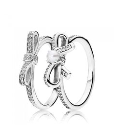 d496ad4c2 Pandora All Wrapped Up Ring Stack Pandora Rings Stacked, Pandora Rings For  Sale, Pandora