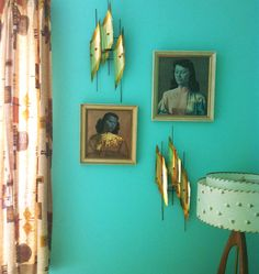tretchikoff vintage decor....not the other shiny things