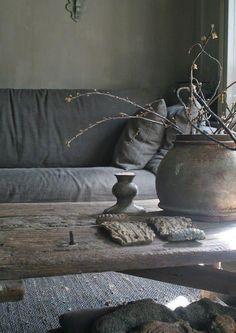 Home decor / natural / wabi sabi