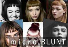 Thinking of updating your look for 2015? A micro blunt bang may be just the thing for you! Click on over to see exactly who we recommend this for and how to style http://maneaddicts.com/2015/01/04/getbanged/