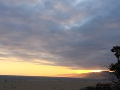 #SantaMonica Bay #Sunset