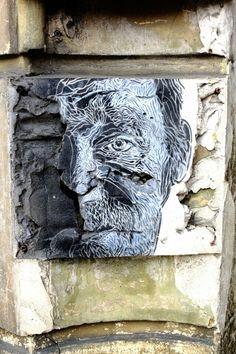 Vitry-sur-Seine - av. Paul Vaillant Couturier - street art - c215 #ChristianGuemy #Street #Art