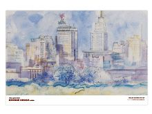 Skyline of Dallas - prints of home (taking with me to dc)