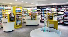 L'agencement d'une pharmacie dans le style moderne