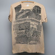 1979 Elvis Costello Armed Funk Tour Shirt