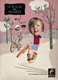 Le Pass (Scientist Adventure Park): Body, Bike, Robot, Mice, Young Lady, Soil, TV, Animation
