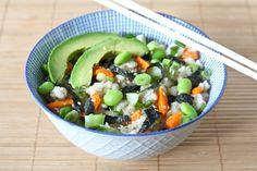 sushi salad #Sushi #Sushimi