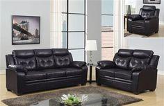 Chocolate Living Room Set