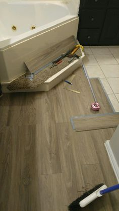 I did this myself vinyl plank flooring over tile floors i did this myself vinyl plank flooring over tile solutioingenieria Gallery