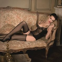 Only Stockings Allowed: Photo