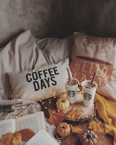Image discovered by D E N I S S E L 👑. Find images and videos about coffee, autumn and cozy on We Heart It - the app to get lost in what you love. D House, Cozy House, Winter Poster, Autumn Cozy, Autumn Fall, Autumn Coffee, Fall Harvest, Autumn Aesthetic, Cozy Aesthetic