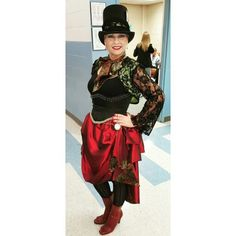 My steam punk madhatter costume. Used a Simplicity pattern.