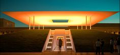 Twilight Epiphany Skyspace by James Turrell in Houston