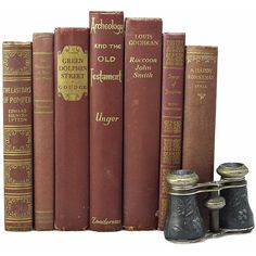 CHESTNUT 1940s Book Collection Sets, Decorative Books, Wedding Decor,... ($43) ❤ liked on Polyvore featuring books, fillers, decor, items y backgrounds