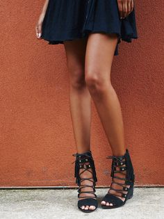 Solstice Fringe Wedge from Free People!