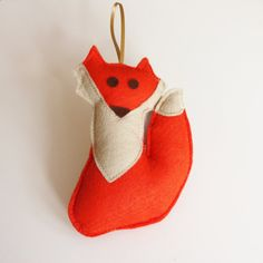 Hey, I found this really awesome Etsy listing at https://www.etsy.com/listing/167592538/woodland-fox-hanging-small-fox-plushie