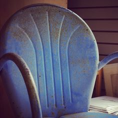 Metal Hotel Chair