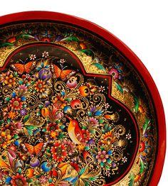 Artesanía Michoacana - lacquer folk art from Mexico masters.