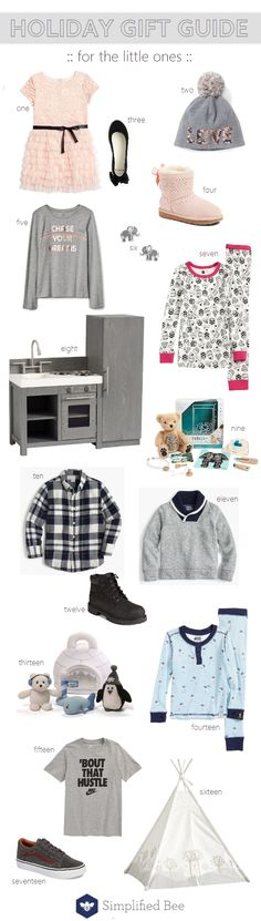 Holiday Gift Guide 2017 :: For Kids - Simplified Bee Holiday Gift Guide, Holiday Gifts, Niece And Nephew, Kids Corner, Little Ones, Shopping, Fashion, Xmas Gifts, Moda