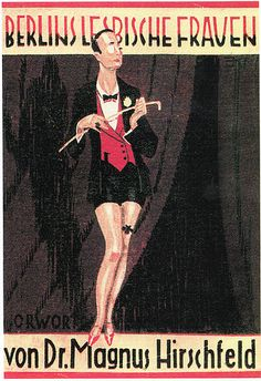 Cover of The Lesbians of Berlin (1928)