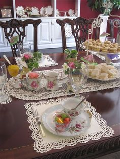 Tea With Friends: Behind the scenes at Cari's Tea Party