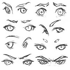 New Eye Anatomy Project Character Design Ideas Manga Drawing Tutorials, Drawing Techniques, Art Drawings Sketches, Cartoon Drawings, Desenhos Halloween, Anatomy Art, Eye Anatomy, Sketches Tutorial, Drawing Expressions