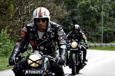 The Current Cafe Racer Scene in Kuala Lumpur Bike Style, Moto Style, Cafe Racer Honda, Cafe Racers, Sr500, Custom Harleys, Custom Bikes, Classic Bikes, Bike Design