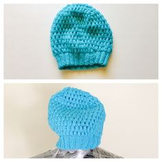 A personal favorite from my Etsy shop https://www.etsy.com/listing/258115411/over-sized-turquoise-hatbeanie-crochet