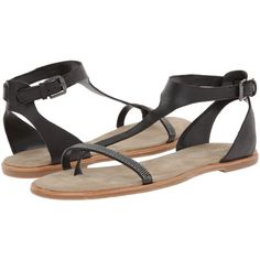 You're mighty marvelous in these Franco Sarto sandals. Leather upper. Mesh detail decorates the vamp strap. Adjustable ankle strap with a buckle closure. Leath…