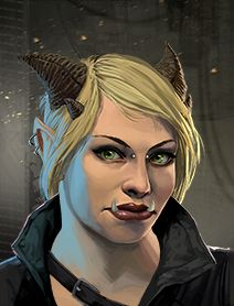 Troll Female Shadowrunners Portraits from Shadowrun Returns and Shadowrun  Dragonfall. Shadowrun Dragonfall 3d55511337