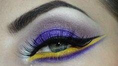 Lakers inspire eye shadow
