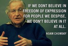 Ummmm, not 100% sure on this one, Noam. Some stupid people are not entitled to their stupid opinion. They just have to accept the consequences of their stupidity!