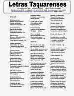 ..CAMINHO DAS LETRAS BLOG..: LETRAS TAQUARENSES Nº 55 Março/Abril 2014 * Antoni...