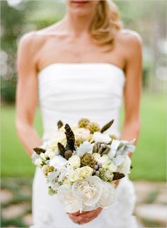 Rustic Wedding bouquet By The Wedding Chicks Blog