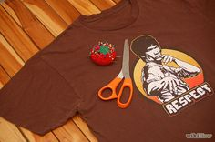 Make a Baggy T Shirt Fitted - wikiHow