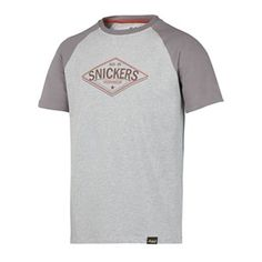 Comfortable T-shirt (available in sizes S-XXL) for when you are done working for the day. The subtle baseball feel and super soft fabric is perfect to wear on your time off. - Snickers Workwear Artnr. 2510