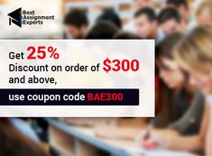Get 25% discount on order of $300 and above.Use Coupon Code BAE300