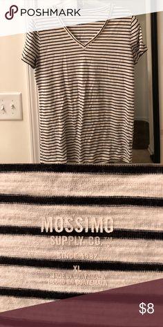 XL stripe t shirt XL stripe t shirt Mossimo Supply Co Tops Tees - Short Sleeve