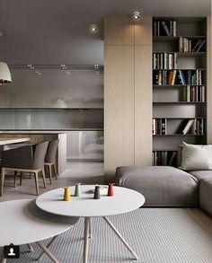 Interior Design,V-Ray,Capture One Pro,Autodesk Max Interior Design Kitchen, Modern Interior Design, Home Living Room, Interior Design Living Room, Living Room Designs, Interior Architecture, Living Spaces, Furniture Design, House Design