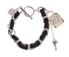 Guess ribbon chain bracelet