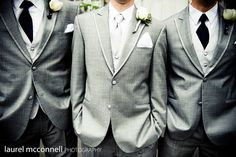 Grey suits are dope
