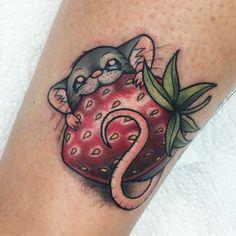 strawberry tattoo - Google zoeken