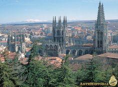 Catedral de Burgos. Vista aérea