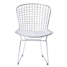 $55 Living & Co Chair Wire Chrome