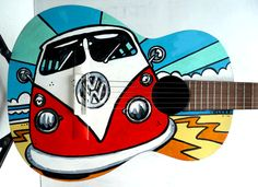 Buddy The Bus Acoustic Guitar