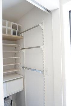 Pantry Shelving, Wire Shelving, Shelves, Laundry Shoot, Pvc Pipe Fittings, Closet Drawers, Japanese Interior, Room Closet, Home Organization