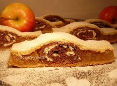 receptyywett : Jablkový koláč-2v1 Czech Recipes, Ethnic Recipes, Cheesesteak, Apple Pie, Food And Drink, Treats, Breakfast, Sweet, Czech Food