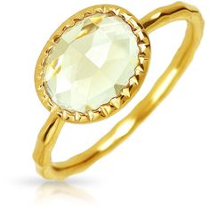 Bling Jewelry Lemon Quartz Oval Modern Hammered Ring 925 Silver ($35) ❤ liked on Polyvore featuring jewelry, rings, yellow, silver stackable rings, hammered silver jewelry, silver oval ring, silver rings and lemon quartz ring